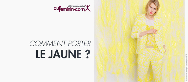 Amazon.fr : aufeminin.com - Comment porter le jaune : Vêtements