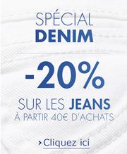 Denim jeans solde