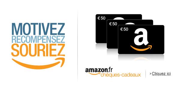 Programme chèques-cadeaux Amazon.fr pour les entreprises