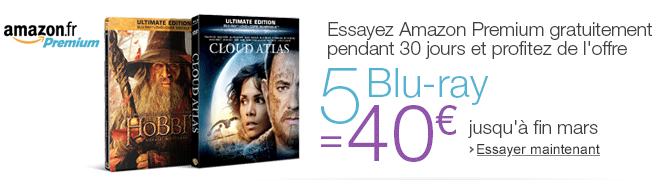 Amazon Premium : Offre sp�ciale : 5 Blu-ray = 40�