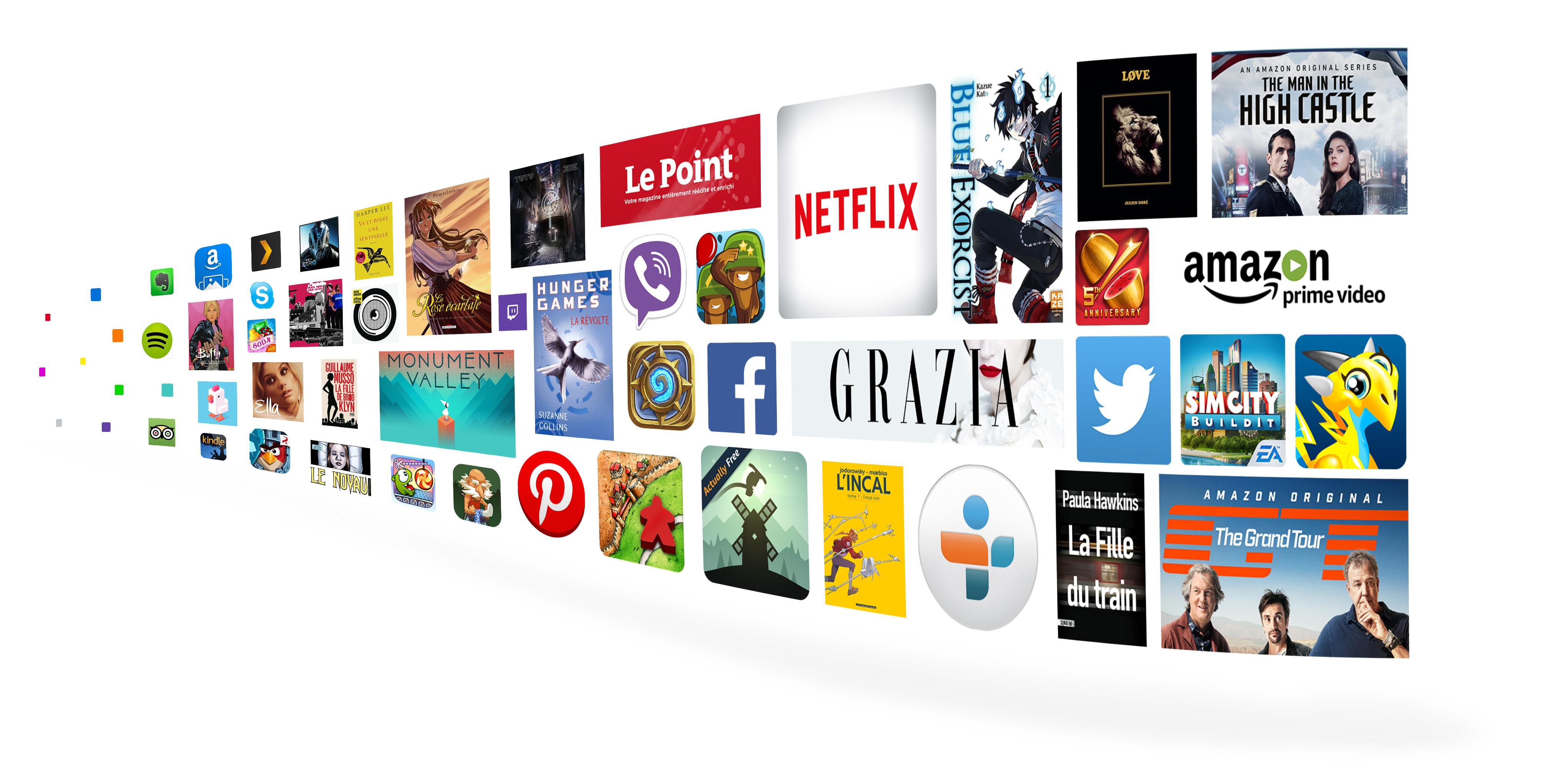 Profitez de plus de 38 millions de chansons, livres, applis et jeux