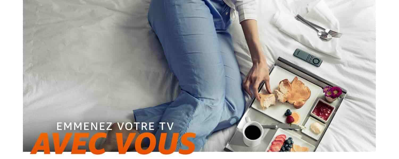 Emmenez votre TV avec vous