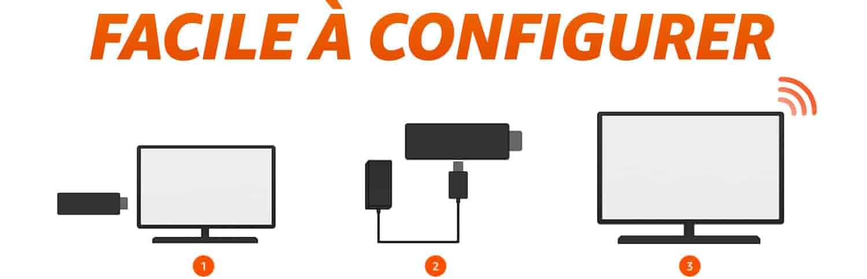Facile à configurer