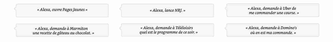 Alexa, demande à La Fourchette de trouver un restaurant japonais à Lyon.