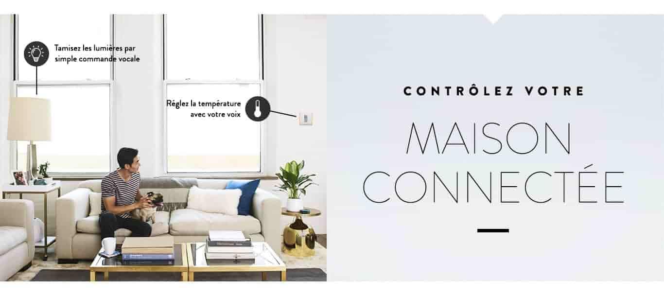 Contrôlez votre maison connectée