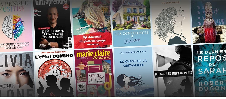 Choissez parmi plus d'un million de titres dont plus de 35 000 en français et lisez en toute liberté pour 9,99€ par mois.