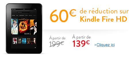Réduction Kindle Fire HD