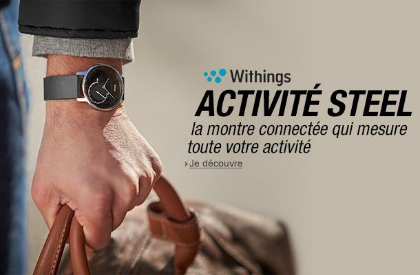 Découvrez Withings Activité Steel, la nouvelle montre connectée