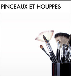 Pinceaux et houppes