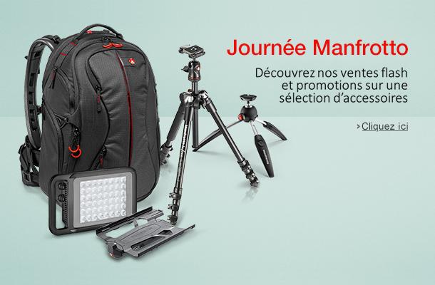 Journée Manfrotto: Découvrez nos ventes flash et promotions sur une sélection d'accessoires