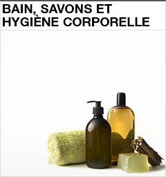 Bain, savons et hygiène corporelle