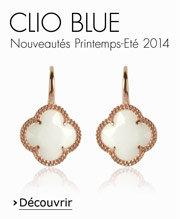 Boucles d'oreilles Clio Blue