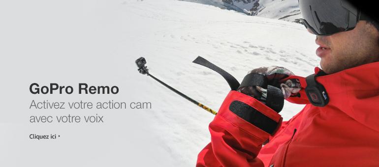 GoPro REMO - Activez votre action cam avec votre voix
