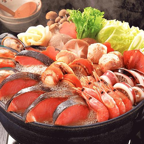 海鮮工房 黒帯 石狩鍋セット