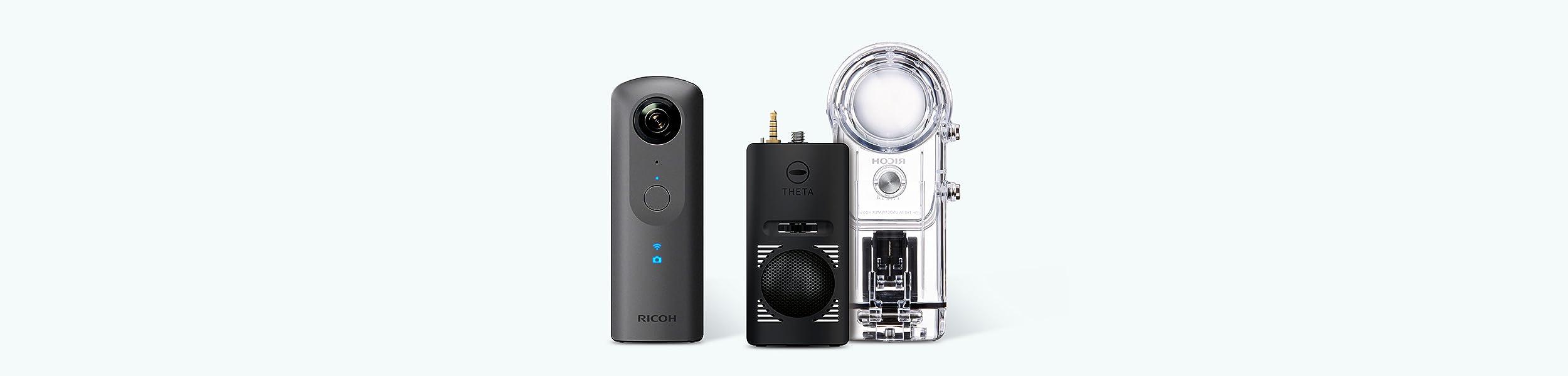 camera RICOH THETA V