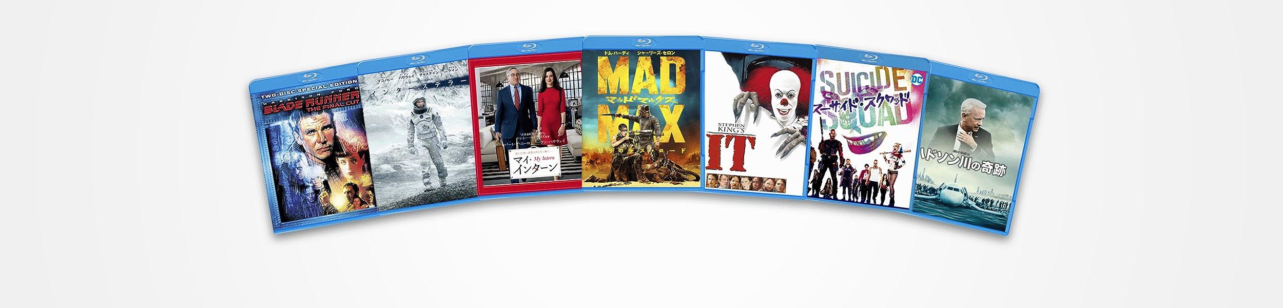 3/31までまでワーナー映画作品のブルーレイが1枚1,080円セール対象タイトル450本以上