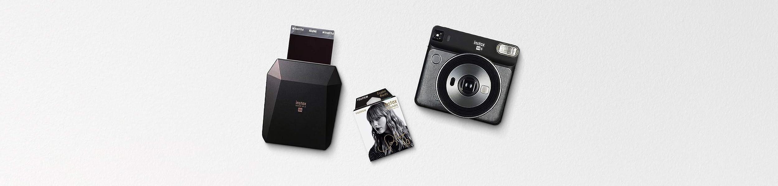 富士フイルム チェキ instax SQUARE Taylor Swift Edition テイラー・スウィフト監修のSQ6 & Square Film