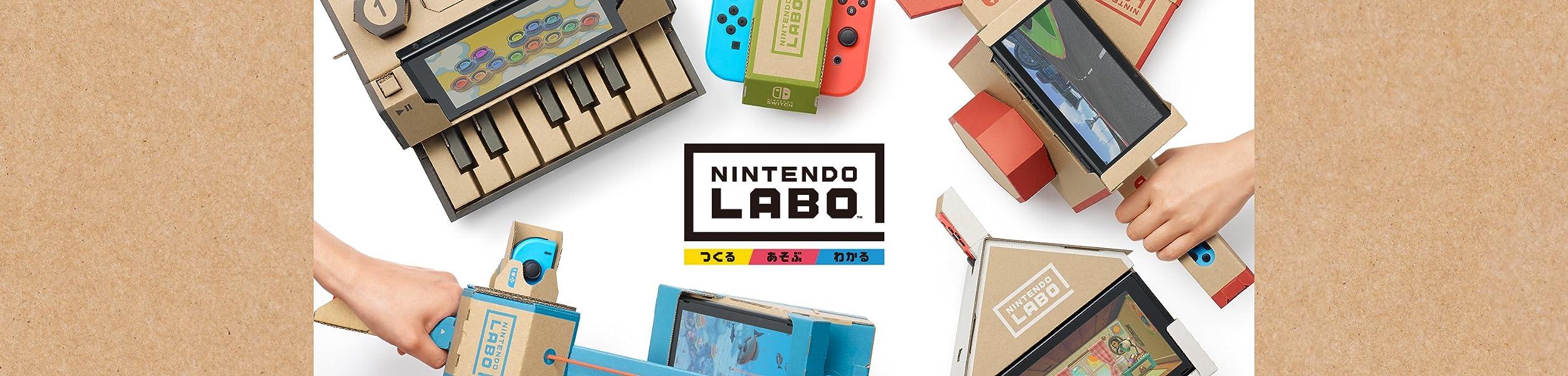 遊びの発明 Nintendo Labo 4月20日発売