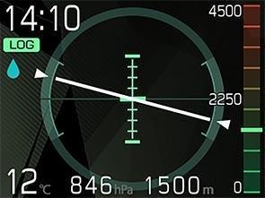TG-Tracker センシング画面画像2