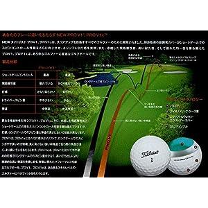 TITLEIST(タイトリスト) 15 PRO V1352ディンプルデザイン