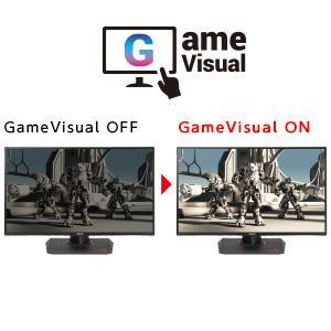 ゲームジャンルに合わせて色調などを変えられる GameVisual