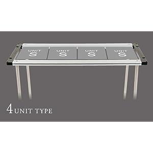 4 UNIT TYPE アイアングリルテーブル フレームロング