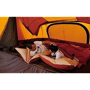 セパレートシュラフオフトン 「掛け+敷き」のお布団というコンセプトの寝袋