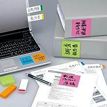 3M Post-it ポストイット ふせん 付箋 おすすめ 通販 文房具 メッセージ 伝言 メモ 強粘着 はがれにくい はがれない