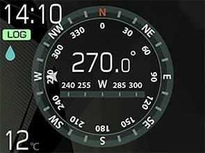 TG-Tracker センシング画面画像1
