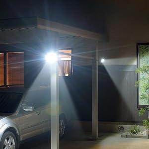 led センサー ライト 屋外用 人感 屋外 防犯