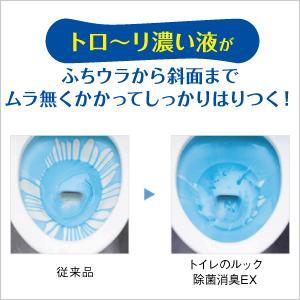 ふちウラの尿石を強力洗浄