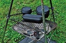 コロダッチカプセル 三脚スタンドで調理