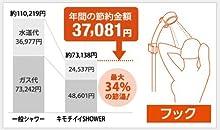 最大34%の節湯