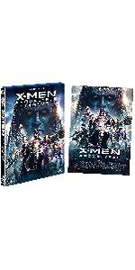 【Amazon.co.jp限定】X-MEN:アポカリプス 2枚組ブルーレイ&DVD (A3サイズポスター付き)(初回生産限定)