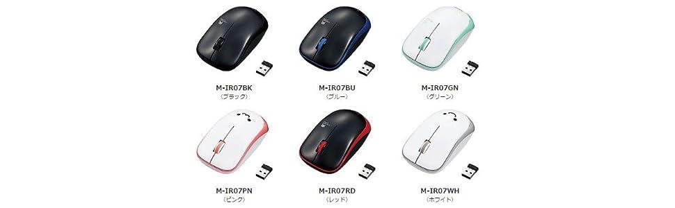 amazon エレコム ワイヤレスマウス 3ボタン 省電力 ブラック m