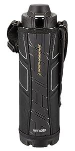 タイガー 水筒 スポーツボトル 「サハラ」 ブラック 1.5L MME-B150-K