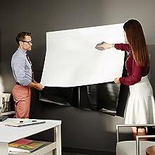 オフィス,ホワイトボード,ボード,壁紙,黒板,掲示板,シート,貼りつけ,壁掛け
