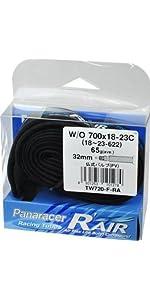 Panaracer(パナレーサー) RacingTube R'AIR [W/O 700x18~23C] 仏式バルブ(34mm) TW720-F-RA