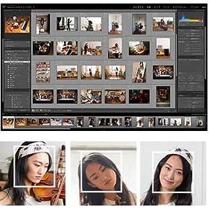 新しい顔認識機能では、1枚の写真で人物の顔を選択すると、すべ ての写真から自動的に検出されます。撮りためた写真を顔にもと づいて分類することもできます。写真の整理や検索がさらに簡単 になりました