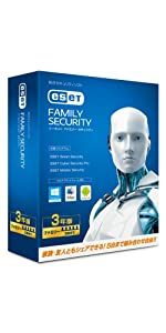 ESET ファミリー セキュリティ(5台3年)