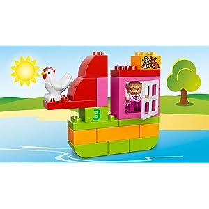 レゴ デュプロ ピンクのコンテナデラックス 作例