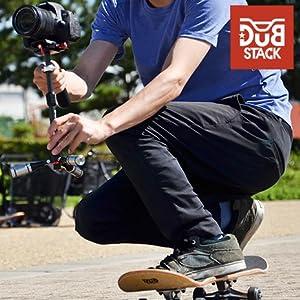 sk8 スケートボード ストリートスポーツ ブランド DUB STACK ダブスタック カメラ スタビライザー