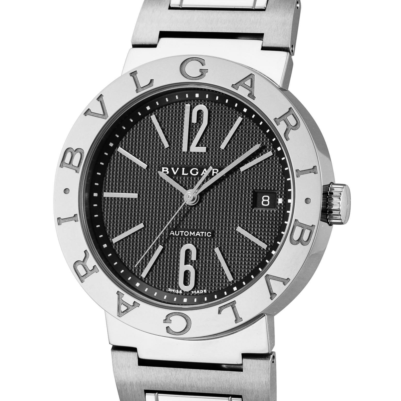 6c1c7dac1580 Amazon | [ブルガリ]BVLGARI 腕時計 ブルガリブルガリ ブラック文字盤 ...