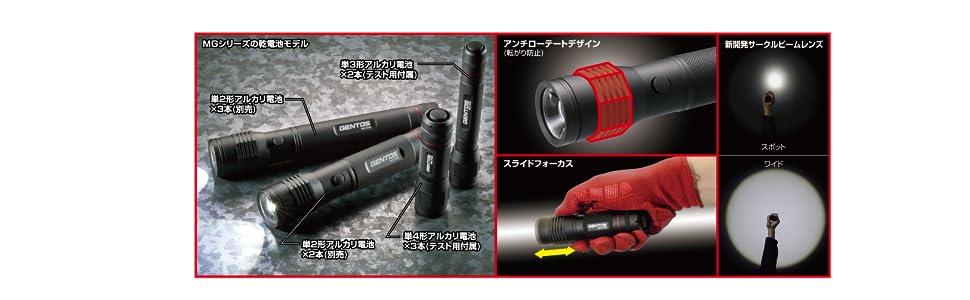 MGシリーズの乾電池モデル