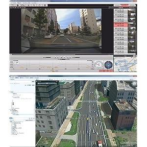 GPS標準搭載&汎用記録フォーマット