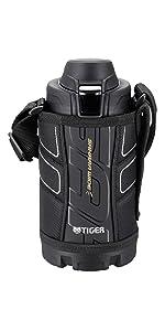 タイガー 水筒 スポーツボトル 「サハラ」 ブラック 800ml MME-B080-K