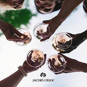 JC Spark Rose Glass