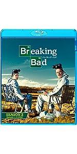 ブレイキング・バッド シーズン2 ブルーレイ コンプリートパック(4枚組) [Blu-ray]