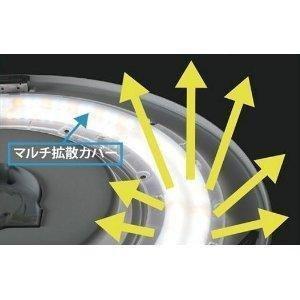 NEC LEDシーリングライト 調光タイプ 連続・多段調光 昼光色 LIFELED'S