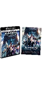 【Amazon.co.jp限定】X-MEN:アポカリプス (A3サイズポスター付き)(3枚組)[4K ULTRA HD + 3D + Blu-ray]
